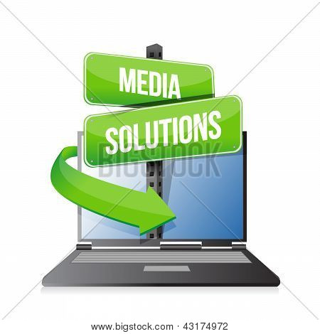 Laptop Media Solution