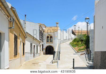 Sunny Spanish White Town Montilla