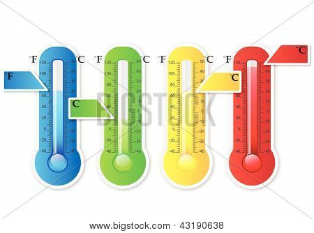 Thermometer Color Full
