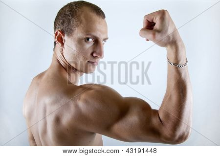 Man Showing His Arm