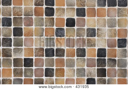 Coffee-colored Mosaic Background