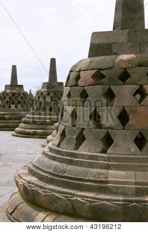 The Borobudur Stupa