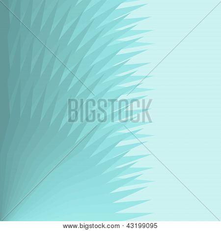 Fondo degradado azul ventilador