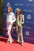 LOS ANGELES - MAR 10:  Steven Tyler, Joe Perry arrive at the  10th Annual John Varvatos Stuart House
