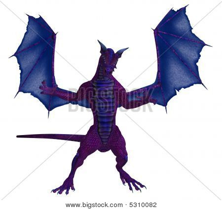 Purple Blue Dragon