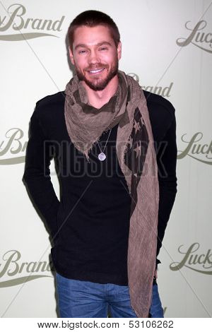 LOS ANGELES - OCT 29:  Chad Michael Murray at the Lucky Brand Store Opening at Lucky Brand Store on October 29, 2013 in Beverly Hills, CA