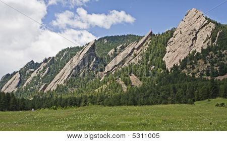 Flatirons At Boulder, Colorado