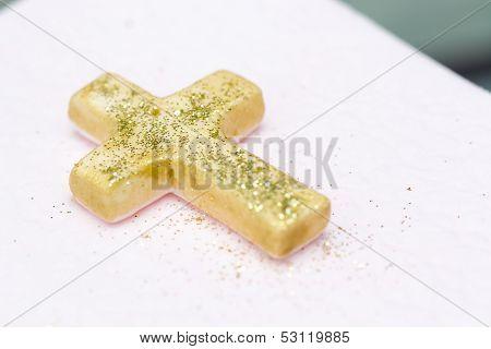 Christening cake decoration