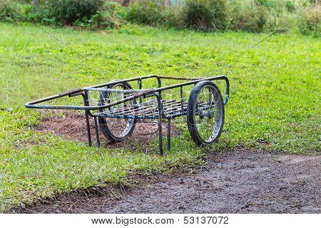 Two Wheels Handcart