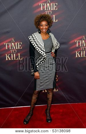 NEW YORK- OCT 20: Actress Adriane Lenox attends the Broadway opening night of 'A Time To Kill' at The Golden Theatre on October 20, 2013 in New York City.