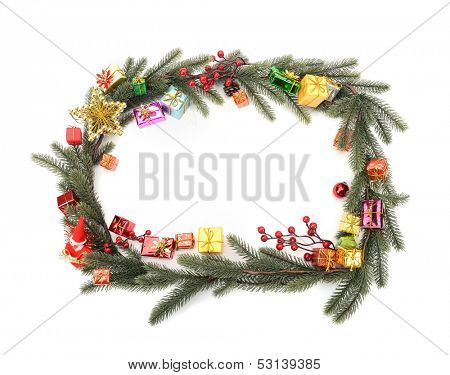 Christmas decoration wreath