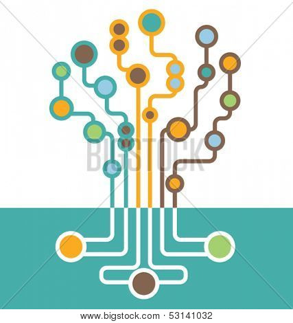 abstract tech tree
