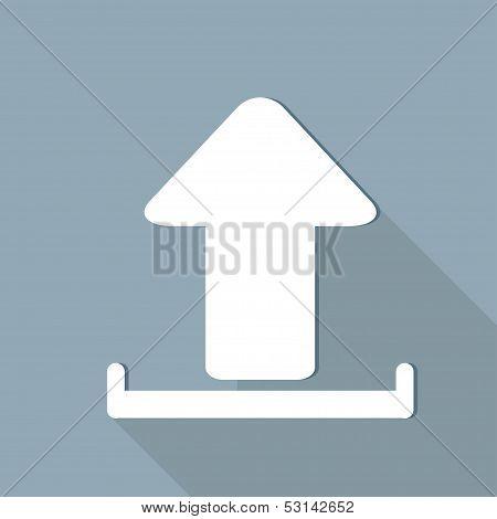 Upload web icon