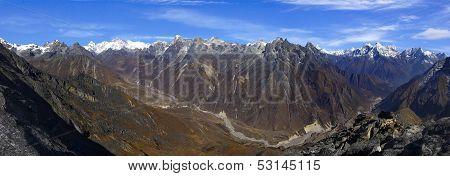 Picturesque nepalese landscape.