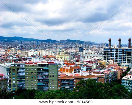 Cityscape Of Barselona
