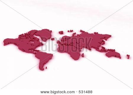 World Map Flat3