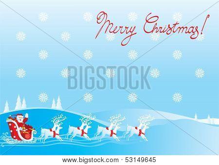 Santa Claus's sledge