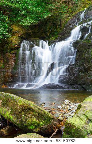 Torc waterfall in Killarney National Park, Ireland
