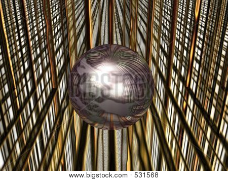 Sphere In Matrix.