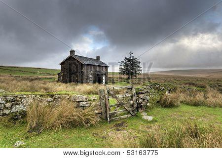 Stormy Day On Dartmoor