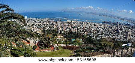 Baha'i World Center In Haifa