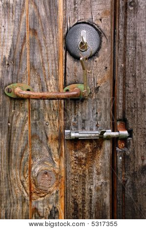 Door Lock, Handle And Latch