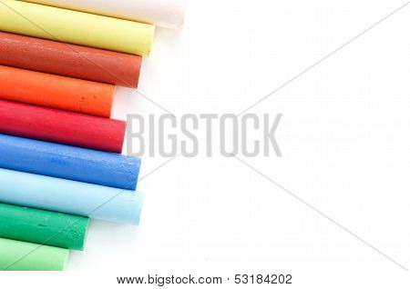 Colorful Pastel, Crayons