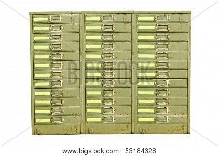 Old Steel Cabinet