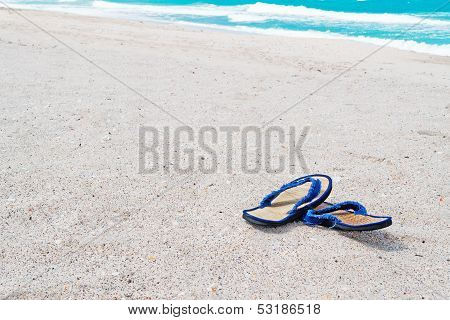 Wicker Flip Flop