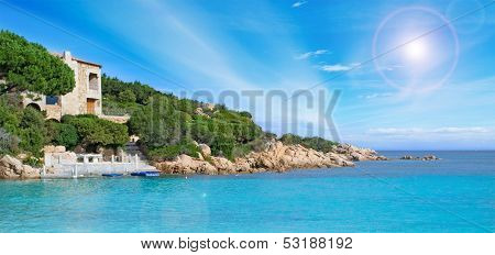 Costa Smeralda Coastline