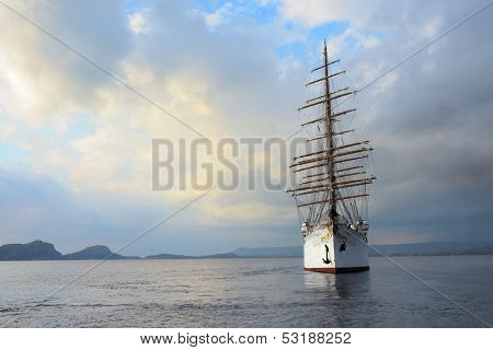 Luxury Sailfish Sea Cloud In Navarino Bay, Greece