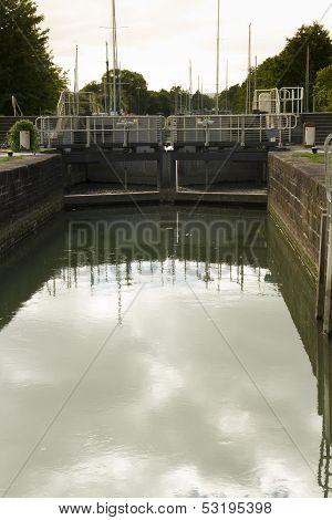 Sea Lock On Lydney Canal