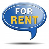 pic of house rent  - For rent banner - JPG