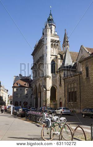 The Church Notre Dame In Dijon, France