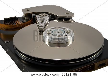 Hard disk of the personal computer
