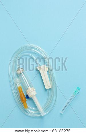 Drip intravenous system