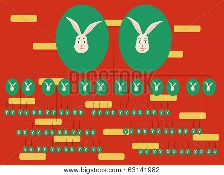Family Tree Rabbit