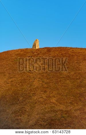 Standing Stone On Hill