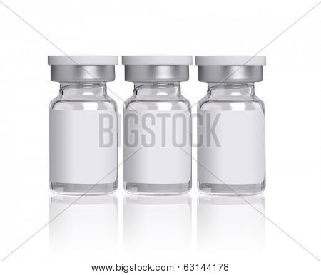 glass bottles for medicines