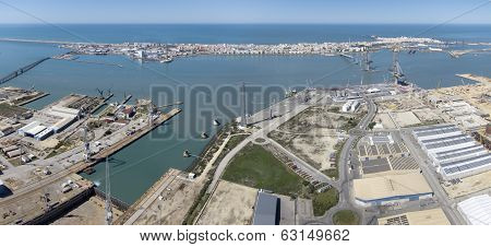 Panoramic Puerto Real Shipbuilding