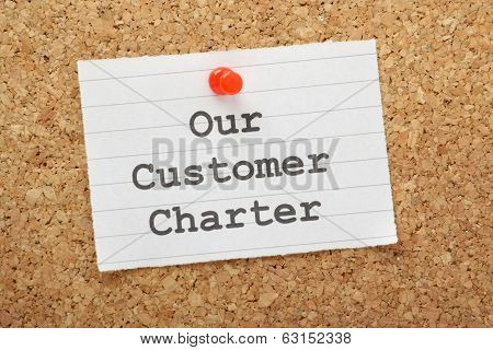 Our Customer Charter
