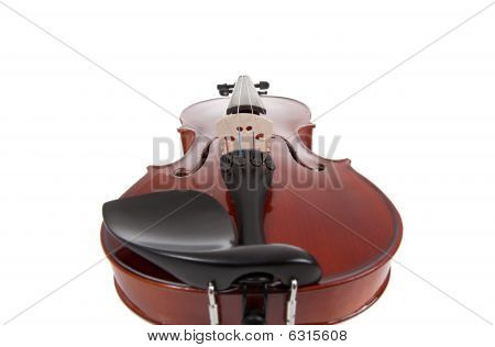 Violin On A White Background