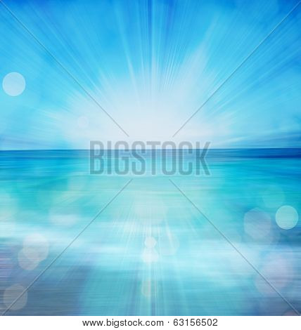 Abstract ocean or sea background