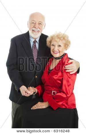 Seniors Holiday Portrait