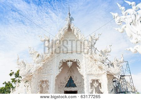 Wat Rong Khun (white Temple) In Chiang Rai Province