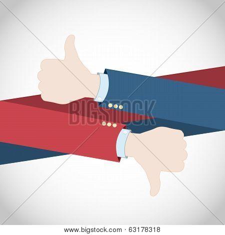 Like or Dislike Hand