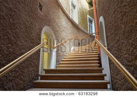 Stairs In Sanatorium