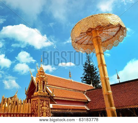 Wat Phrathat Doi Suthep Temple In Chiang Mai