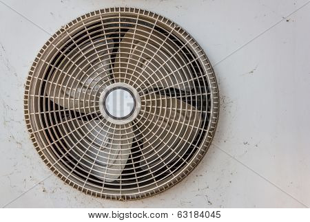 Condenser Fan And Old Rust