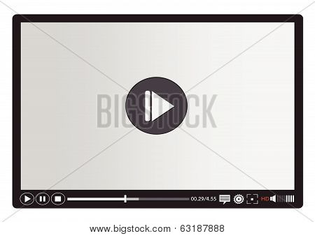 Video player media for web and mobile apps